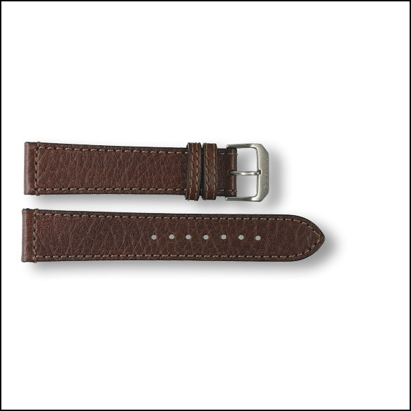 Lederband Aviator - braun - 20mm